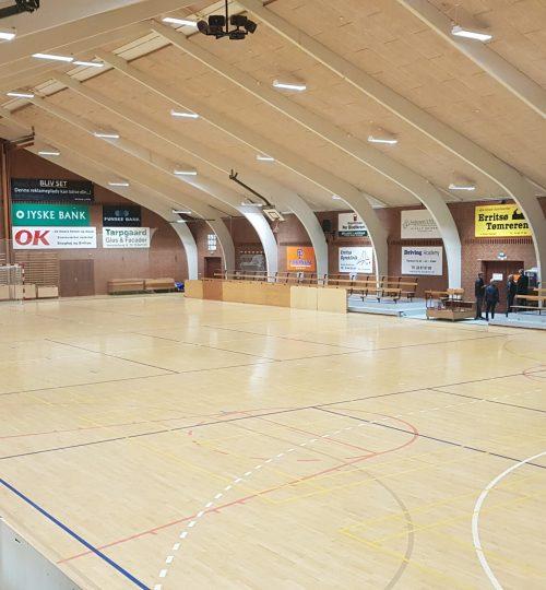 Idrætshal, haller, badminton