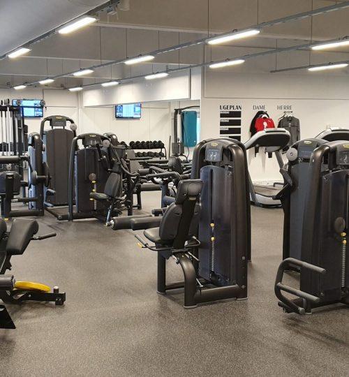 Fitness, behandling, træning, kostvejledning