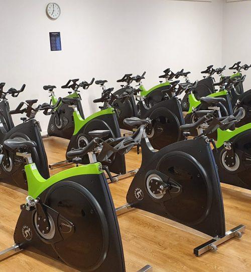 Personlig træning, sport, fitness, spinning